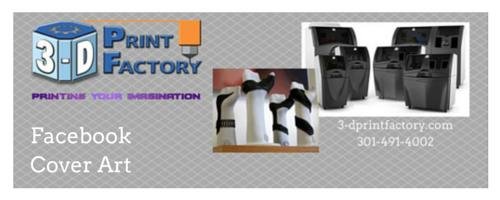 3-D Print Factory Social Media Cover Art