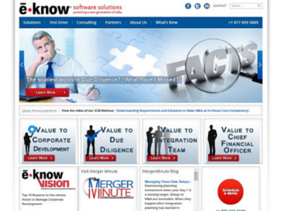eknow Website Redesign