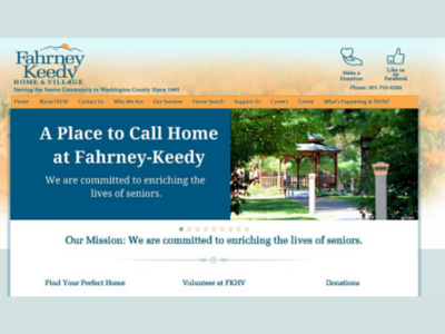 Fahrney-Keedy Home & Village Website