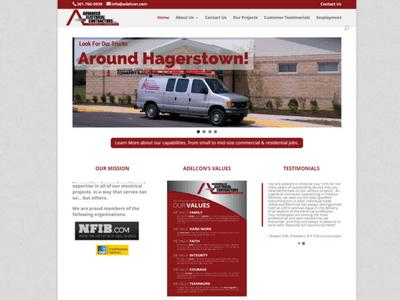 Advanced Electrical Contractors - Retheme