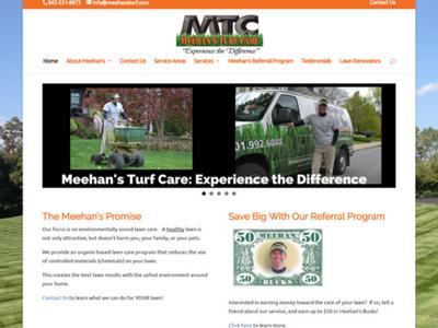 Meehan's Turf Care Re-Theme