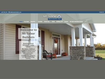 Mt Tabor Builders - Retheme