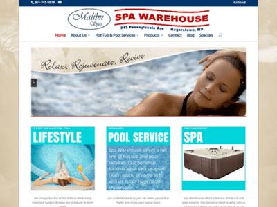 Spa Warehouse - Retheme