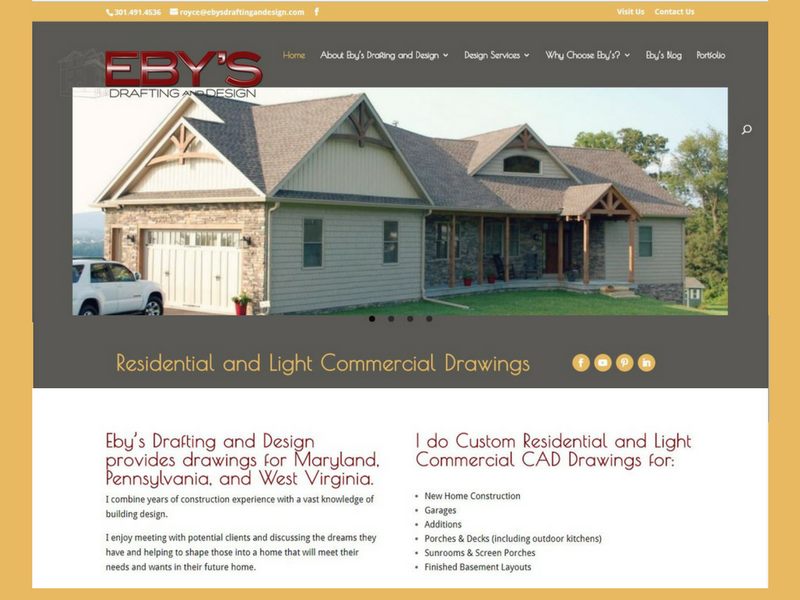 Eby's Drafting and Design Website