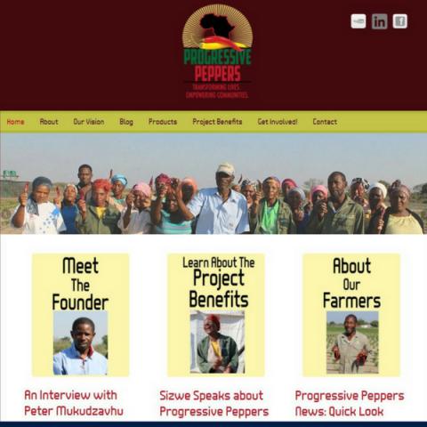 Progressive Peppers Website