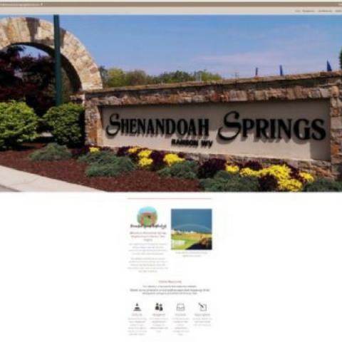 Shenandoah Springs Neighborhood